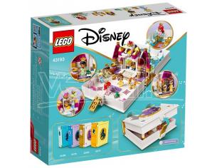 LEGO DISNEY PRINCESS 43193 - L'AVVENTUA FIABESCA DI ARIEL, BELLE, CENERENTOLA E TIANA