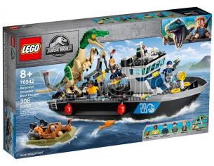 LEGO JURASSIC WORLD 76942 - FUGA SULLA BARCA DAI DINOSAURI BARYONYX