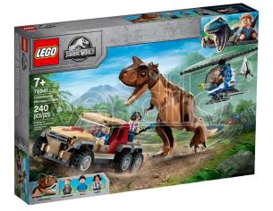LEGO JURASSIC WORLD 76941 - L'INSEGUIMENTO DEL DINOSAURO CARNOTAURUS