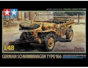 Tamiya TA32506 GERMAN SCHWIMMWAGEN TYPE166 1/48 KIT DI MONTAGGIO Modellino