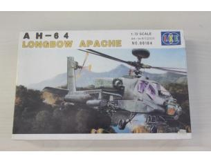 LEE 00104 AH-64 Longbow Apache 1:72 kit militiari Modellino