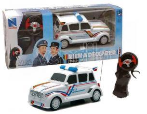 New Ray NY88693 RENAULT 4L POLICE DOUANES RADIOCOMANDO 1:24 Modellino SCATOLA ROVINATA