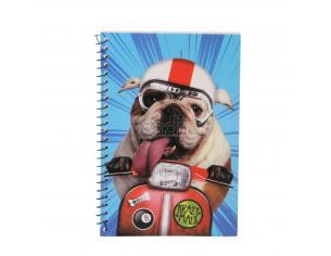 KRAZYMALS Block notes Bulldog Karactermania