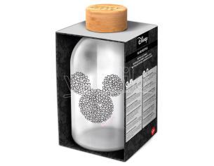 Disney Mickey Bottiglia Di Vetro 620ml Stor