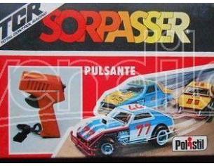 Pulsante HS864 per PISTA ELETTRICA Sorpasser Polistil TCR Modellino SCATOLA ROVINATA