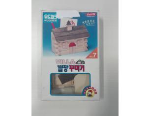 ACADEMY 7817 CASA VILLA WOODEN IN LEGNO Kit Modellino