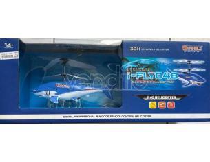 I-Flyo48 Elicottero Shark Syaheli R/C SCATOLA ROVINATA