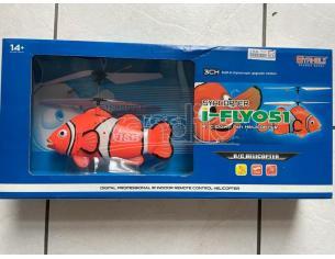 I-Flyo51 R/C Pesce Pappagallo Elicottero Syaheli SCATOLA ROVINATA