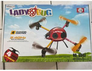 Quadcopter Coccinella Rossa SH-6043 Mini Sanlianhuan SCATOLA ROVINATA