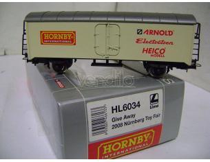HORNBY Rivarossi HL6034 Carrello Fiera Norimberga 2008 1:87 H0 Modellismo