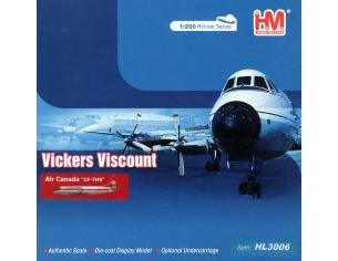 Hobby Master HL3006 Vickers Viscount 700 Series Air Canada Airlines 1:200 Modellino