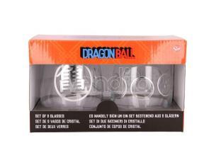 Dragon Ballr Set Di 2 Cristallo Bicchieri Stor