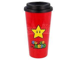 Nintendo Super Mario Bros Double Wall Bicchiere Da Caffè 520ml Stor
