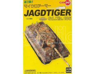 Dragon D20015 JAGDTIGER SD.KFZ.186 1:144 Modellino Scatola rovinata