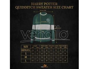 Harry Potter Maglione Quidditch Serpeverde Cinereplicas