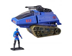 G.i. Joe Retro Collection Series Vehicle Con Figura Cobra H.i.s.s. Iii & Rip It Hasbro