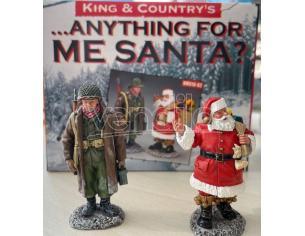 Anything For Me Santa? Statue King & Country's SCATOLA ROVINATA