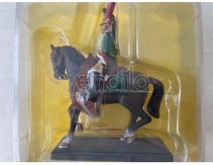 R543 Dragone Dell'imperatore a Cavallo in Piombo SCATOLA ROVINATA