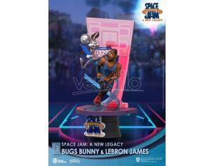 Space Jam: A New Legacy D-Stage PVC Diorama Bugs Bunny & Lebron James Standard Version 15 Cm Beast Kingdom Toys