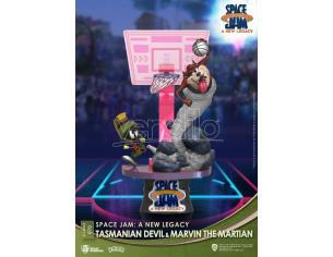 Space Jam: A New Legacy D-Stage PVC Diorama Tasmanian Devil & Marvin The Martian Standard Ver. 15 Cm Beast Kingdom Toys