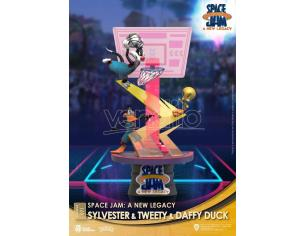 Space Jam: A New Legacy D-Stage PVC Diorama Sylvester & Tweety & Daffy Duck Standard Ver. 15 Cm Beast Kingdom Toys
