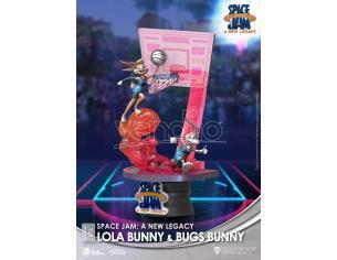 Space Jam: A New Legacy D-Stage PVC Diorama Lola Bunny & Bugs Bunny New Version 15 Cm Beast Kingdom Toys