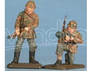 Gasoline MF 48001 Soldati Tedeschi in Normandia SCATOLA ROVINATA