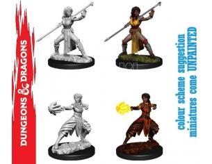 Wizbambino D&d Nolzur Mum Half-elf Female Monk Miniature E Modellismo