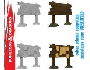 Wizbambino Wizbambino Um Bounty Board Miniature E Modellismo