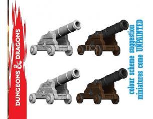 Wizbambino Wizbambino Um Cannons Small Miniature E Modellismo