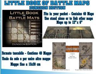 DM VAULT THE LITTLE BOOK OF BATTLEMAPS DUNGEON ED LIBRO