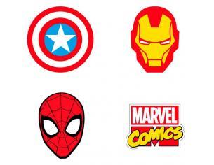 Marvel Pack 4 Gomma Per Cancelleria Cerdà