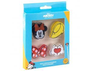Disney Minnie Pack 4 Gomma Per Cancelleria Cerdà