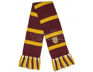 Harry Potter Sciarpa per Costume Adulto Grifondoro Bordeaux e Oro Distrineo