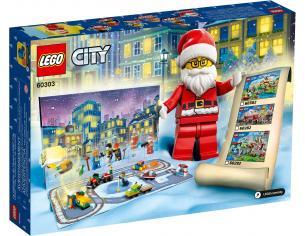 LEGO CITY 60303 - CALENDARIO DELL'AVVENTO CITY