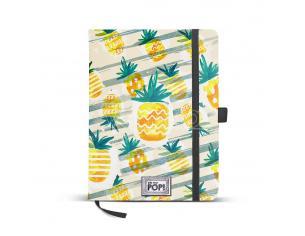 Oh My Pop! Ananas Diario 14x21cm, Giallo Karactermania