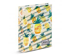 Oh My Pop! Ananas Raccoglitore 4 Anelli, Giallo Karactermania