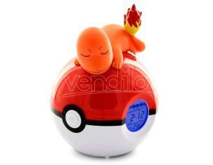 Pokemon Ciondoloander Pokeball Lampada Sveglia Teknofun