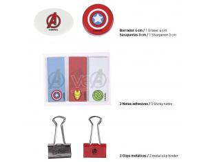 Marvel Avengers Stationery Set Cerdà