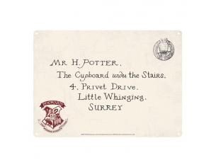 Harry Potter Tin Sign Letters 21 X 15 Cm Half Moon Bay