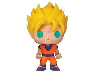 Dragon Ball Z Pop! Vinile Figura Super Saiyan Goku 10 Cm Funko