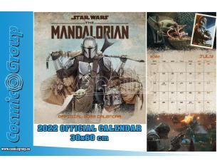STAR WARS THE MANDALORIAN 2022 CALENDAR CALENDARIO DANILO