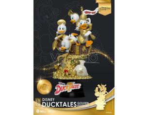 Disney Classic Animation Series D-stage Diorama Ducktales Golden Edition Heo Emea Esclusiva 15 Cm Beast Kingdom Toys
