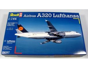 Revell 04267 Airbus A320 Lufthansa kit elicottero 1:144  Modellino
