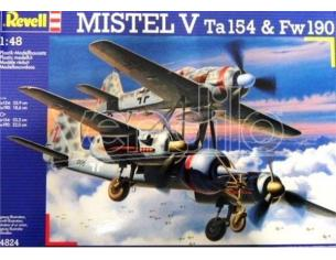 Revell 04824 MISRW V TA154 & FW190 KIT 1:48 Kit Modellismo