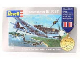 Revell 00012 MESSERSCHMITT BF 109F 1:32 Kit Modellino