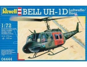 REVELL 04444 BELL UH-1D LUFTWAFFE HEER 1:72 KIT Modellino