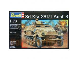 REVELL 03231 SD.KFZ.251/1 AUSF. B 1:76 KIT Modellino