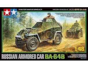 TAMIYA 32576 RUSSIAN ARMORED CAR BA-64B 1:48 KIT  Modellino