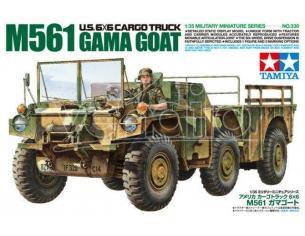 TAMIYA 35330 US 6X6 CARGO TRUCK M561 GAMA GOAT 1:35 KIT  Modellino